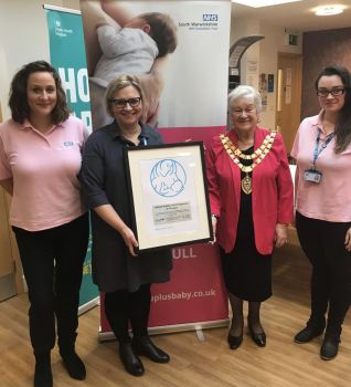 UNICEF recognise high quality breastfeeding support in Solihull