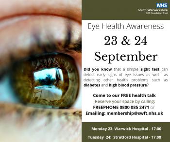 Healthcare provider addresses population's eye health Issues