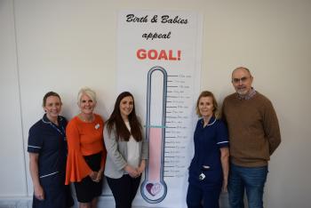 Milestone mark for maternity unit appeal