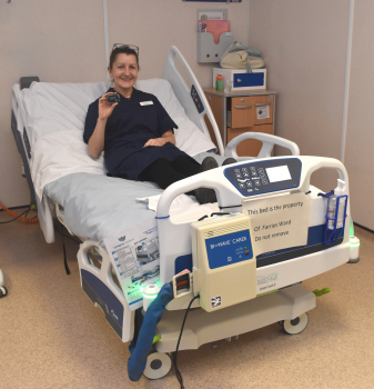 ​Frailty wards purchase state of the art beds with charitable funds.