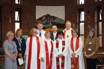 ​Bishop welcomes new Chaplains to Warwick Hospital