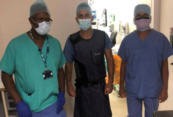 Warwick Hospital successful in first implantation of a 3D printed patient specific jig assisted total ankle replacement