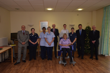 Local Stroke Patients Given Specialist Shower Chair