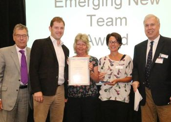 Team recognised for clinical research contribution
