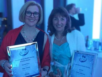 Two Warwickshire health visitors scoop top professional awards