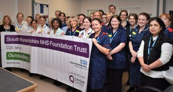 South Warwickshire NHS Foundation Trust first 'Outstanding' acute and community healthcare provider in the Midlands