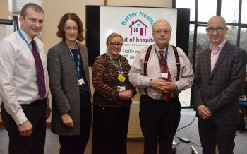 A national frailty expert has recognised local Trust as an exemplar in the field