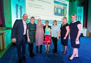 Panel of experts acknowledge local trust for providing excellent ophthalmology care