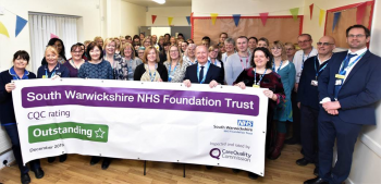 Local NHS staff celebrate 'Outstanding' rating