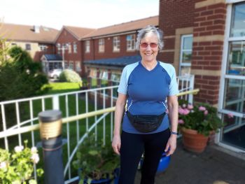 Chaplain goes from couch to 5km