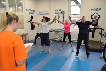 Staff lead by example in 30 day fitness challenge