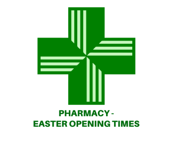 Pharmacy opening times over the Easter weekend